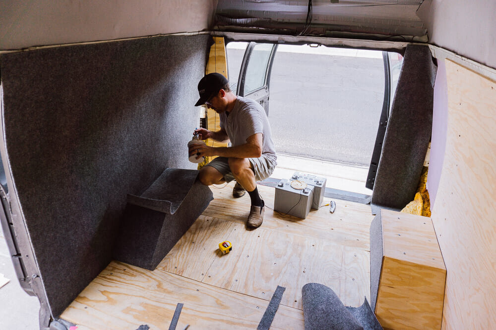 Installing Walls And Solar