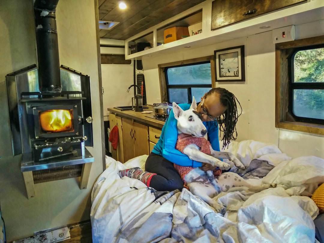 Wood Stove Heating